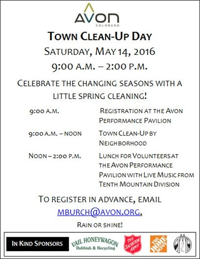 Town Clean-Up Day