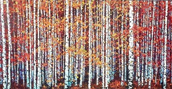 Fall Aspens Painting