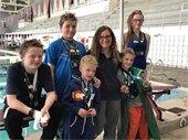 Avon Swim Team at Meet