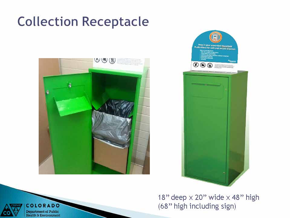 Collection Receptacle Slide Photos