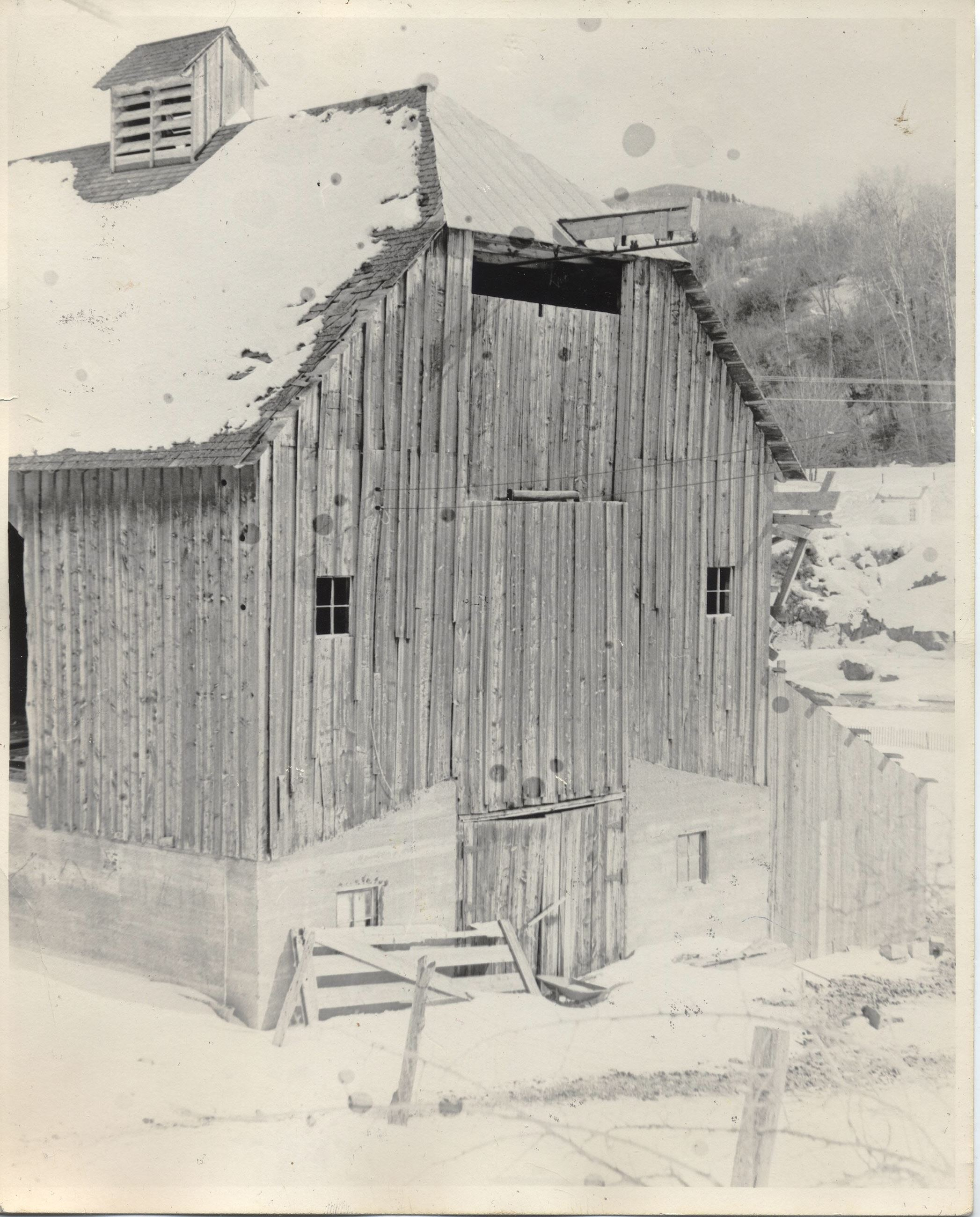 Barn- exterior west end c1972