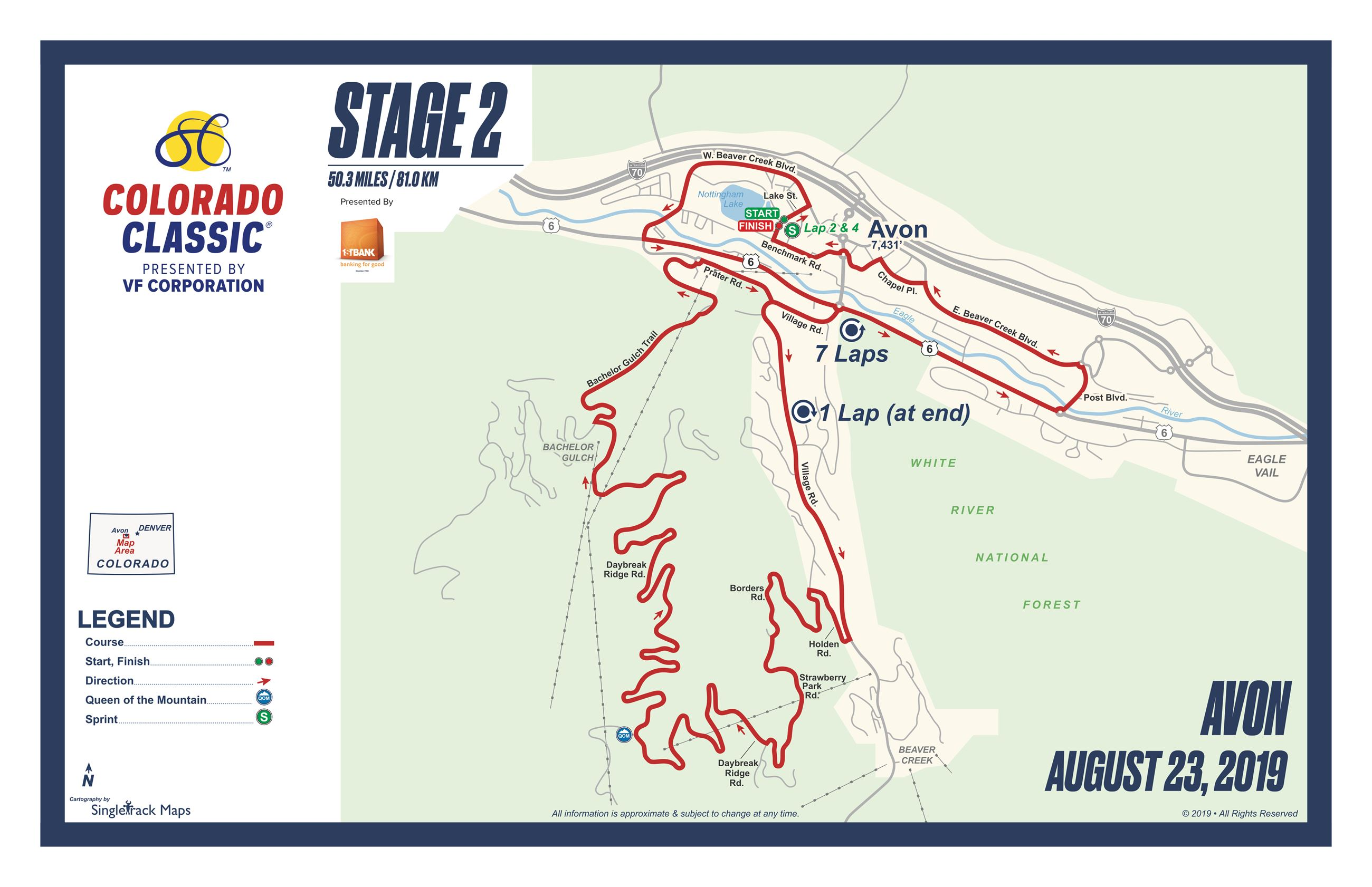 CO Classic 2019 Stage 2 Map