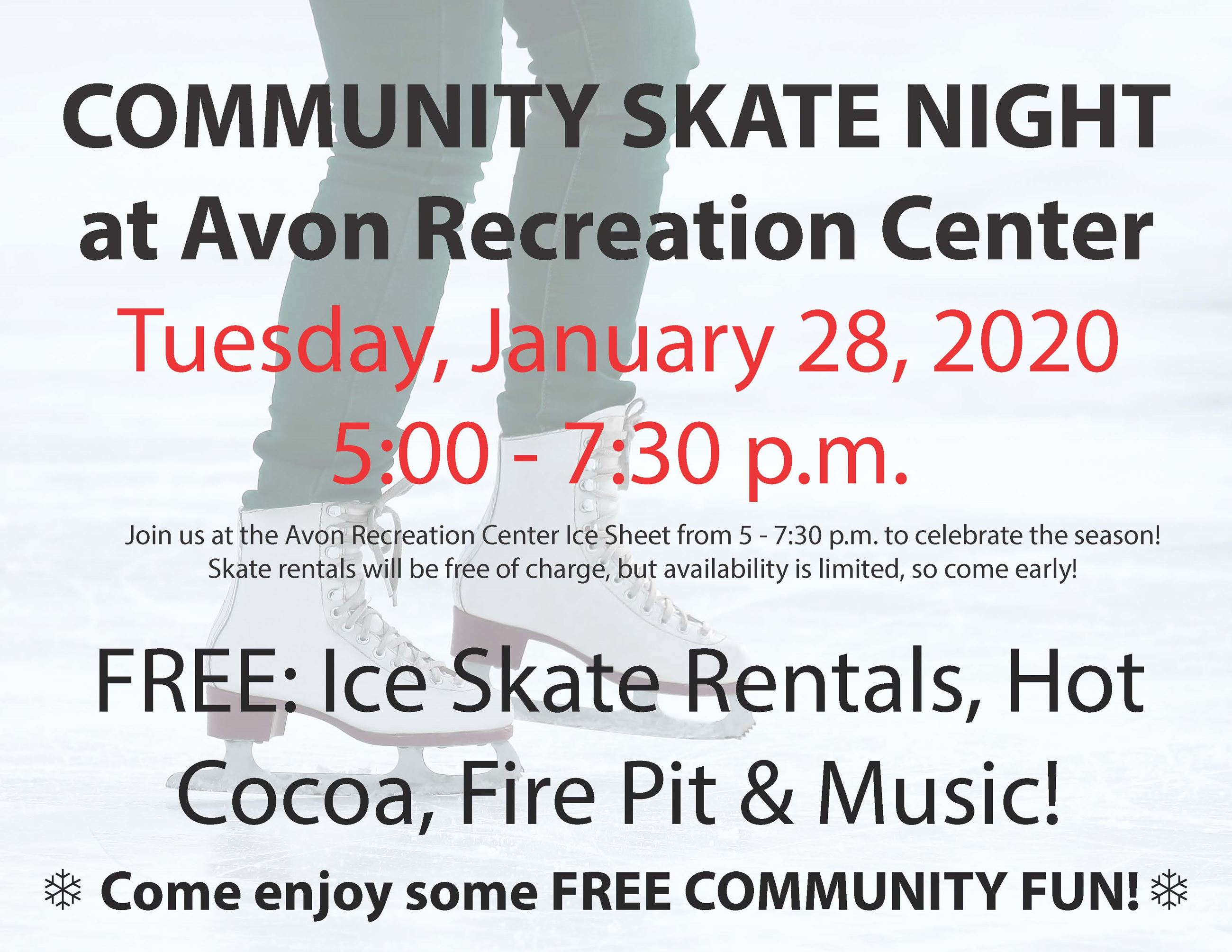 2020 Community Skate Night