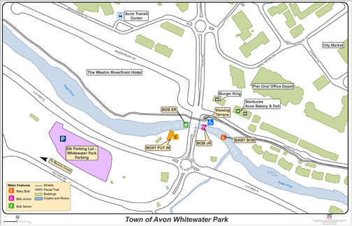 Avon Whitewater Park Map